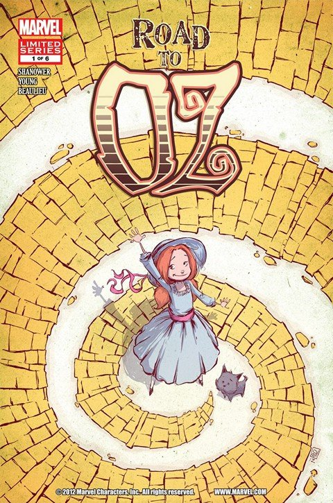 Road to Oz #1 – 6