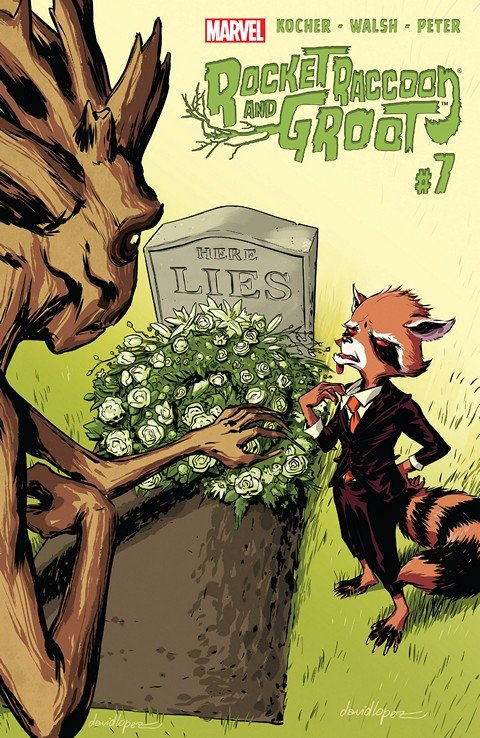 Rocket Raccoon and Groot #7 (2016)