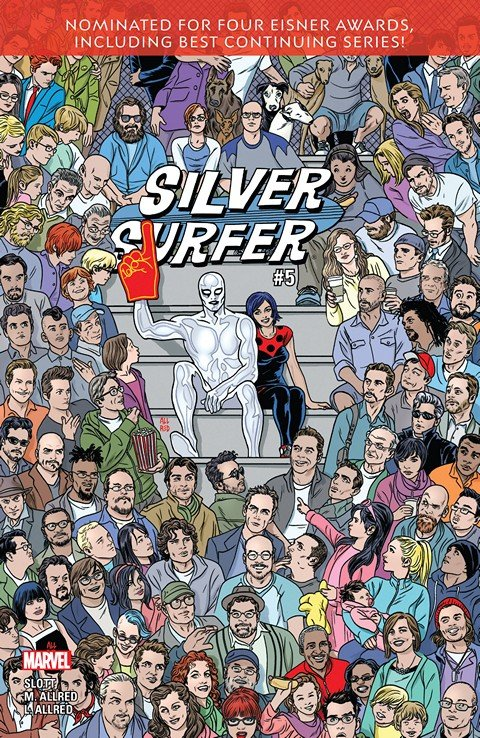 Silver Surfer #5 (2016)