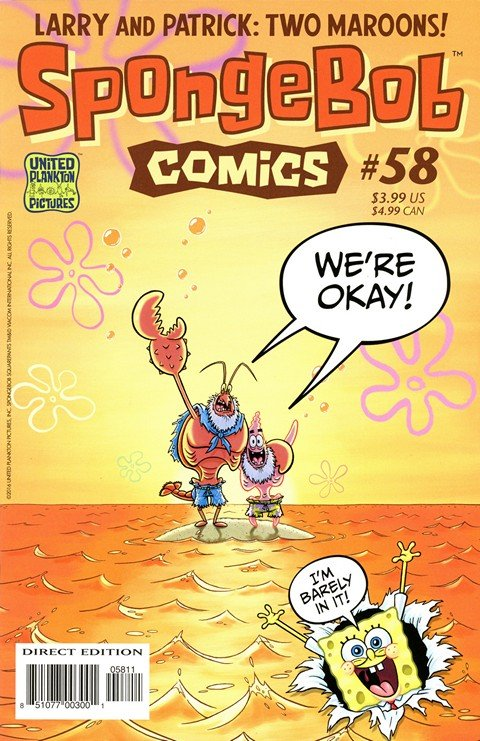 SpongeBob Comics #58