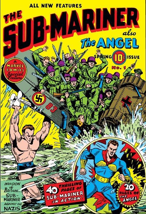 Sub-Mariner Comics #1 – 42 (1941-1949)