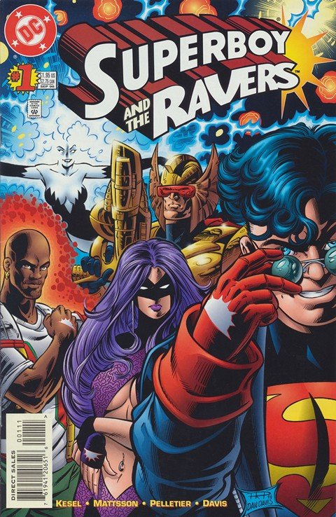 Superboy and the Ravers #1 – 19