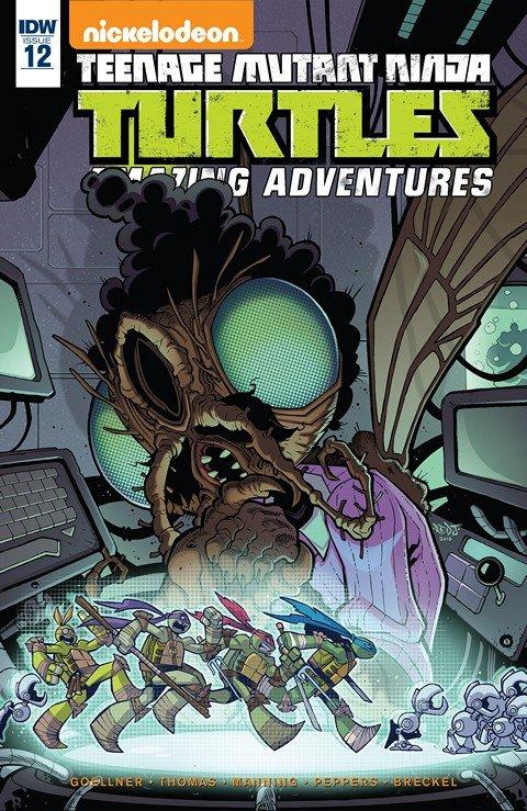 Teenage Mutant Ninja Turtles – Amazing Adventures #12