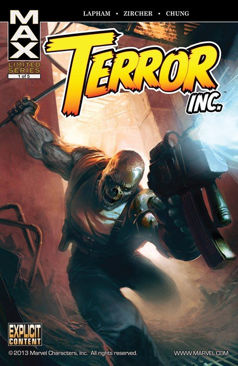 Terror Inc. (Vol. 1 – 2 + Apocalypse Soon)