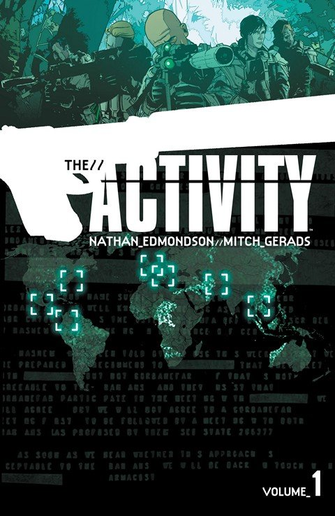 The Activity #1 – 16 + TPB Vol. 1 – 3