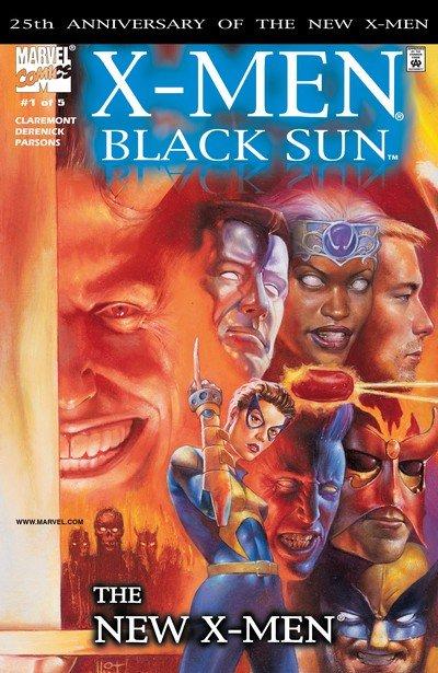 X-Men – Black Sun #1 – 5 (2000)