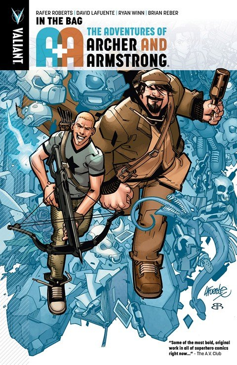 A&A – The Adventures of Archer & Armstrong Vol. 1 – In the Bag (2016)