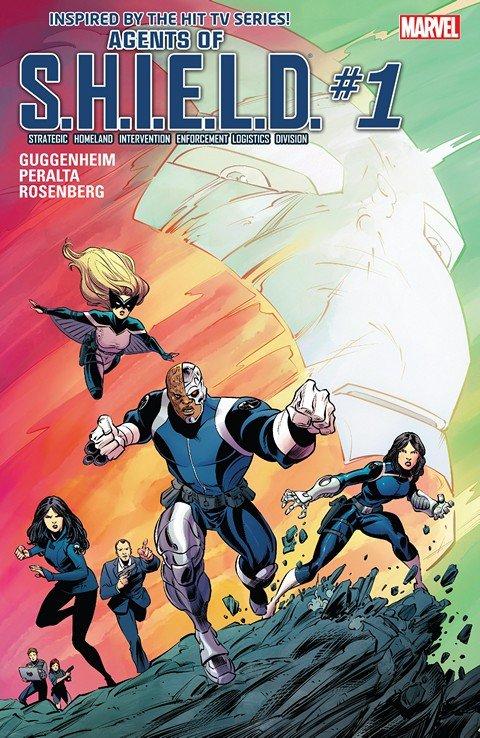 Agents of S.H.I.E.L.D. #1 – 8 (2016)