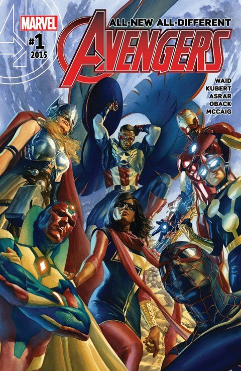 All-New, All-Different Avengers #1 – 15 + TPBs (2016)