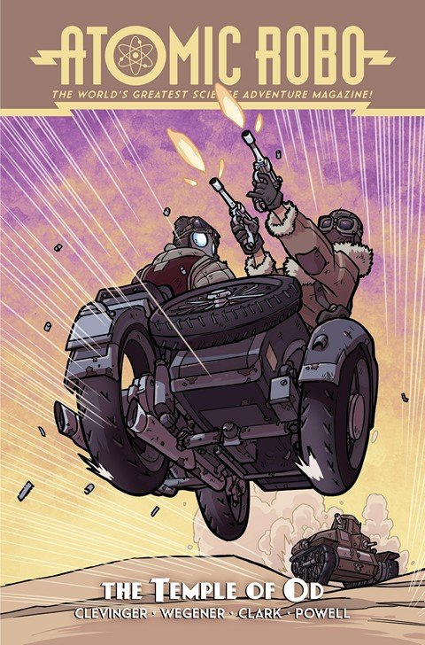Atomic Robo and the Temple of Od #1 (2016)