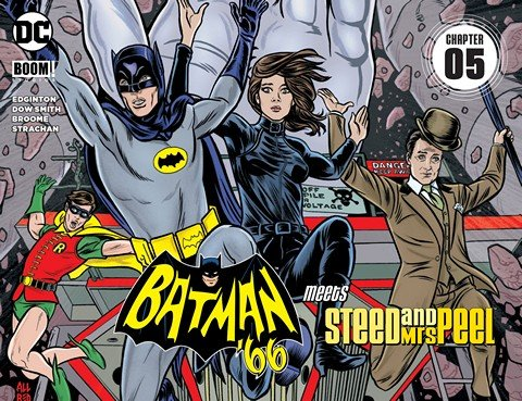 Batman '66 Meets Steed and Mrs Peel #5