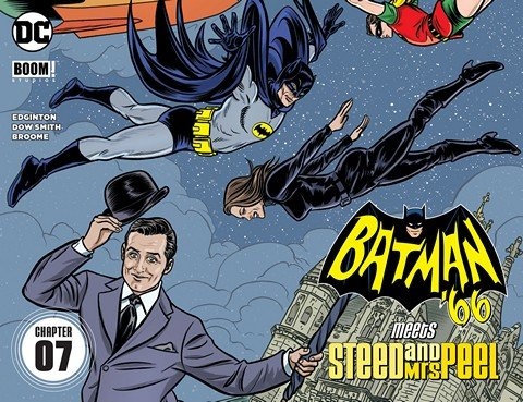 Batman '66 Meets Steed and Mrs Peel #7 (2016)