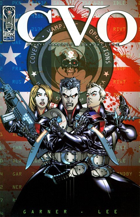 CVO – Covert Vampire Operations (Collection) (IDW)