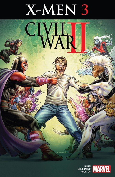 Civil War II – X-Men #3 (2016)