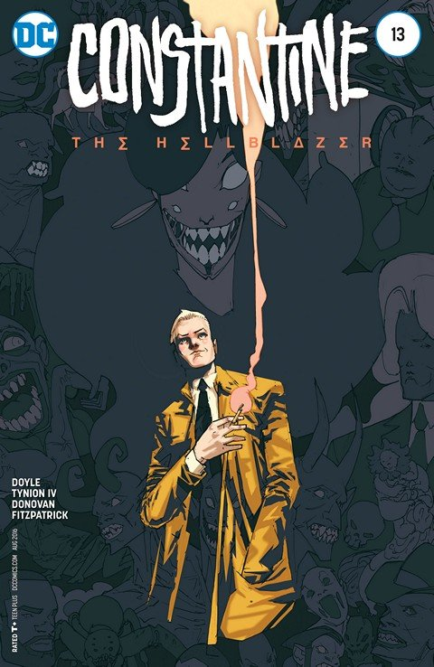 Constantine – The Hellblazer #1 – 13 + TPBs (2015-2016)