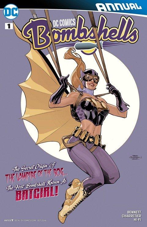 DC Comics – Bombshells Annual #1 (2016)