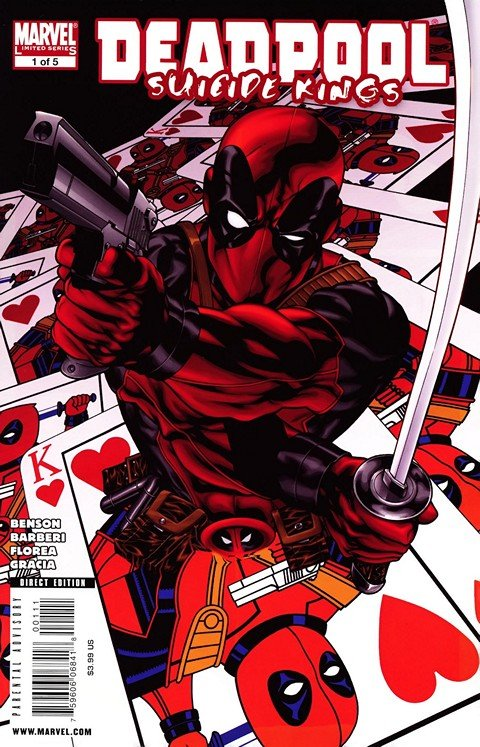 Deadpool – Suicide Kings #1 – 5 + TPB (2009-2010)