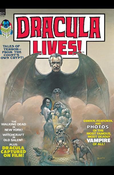 Dracula Lives! #1 – 13 + Annual (1973-1975)