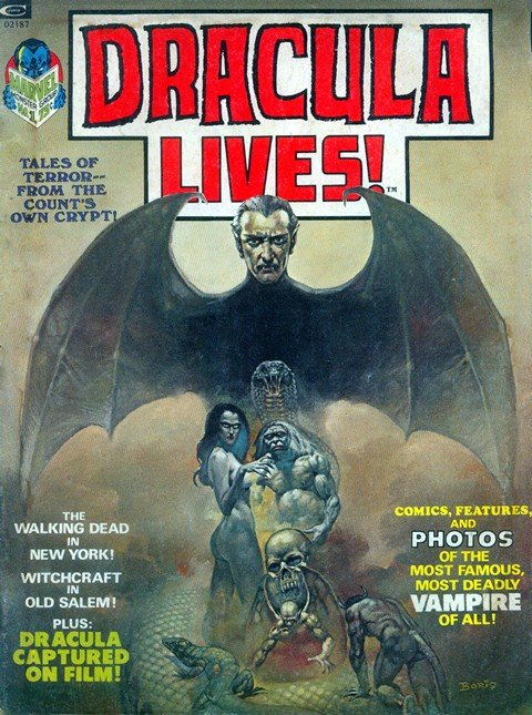 Dracula Lives! #1 – 13 + Annual