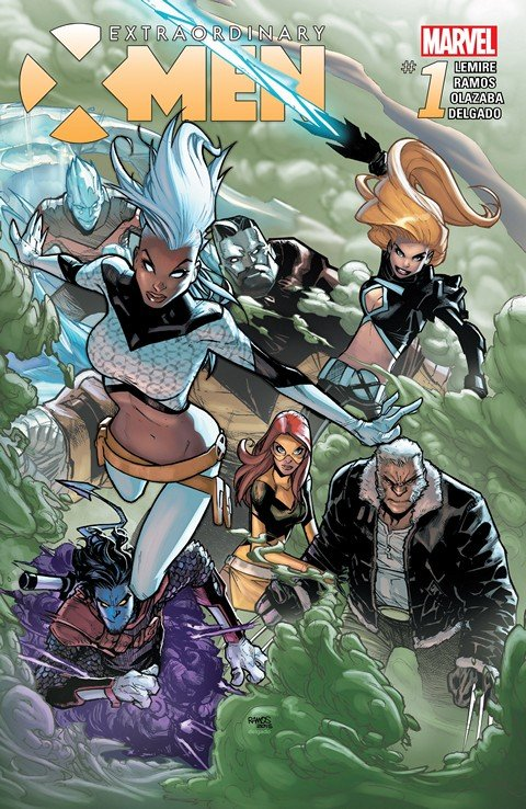 Extraordinary X-Men #1 – 13 + TPB Vol. 1 (2015-2016)