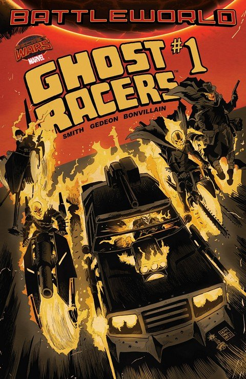 Ghost Racers #1 – 4 (2015)