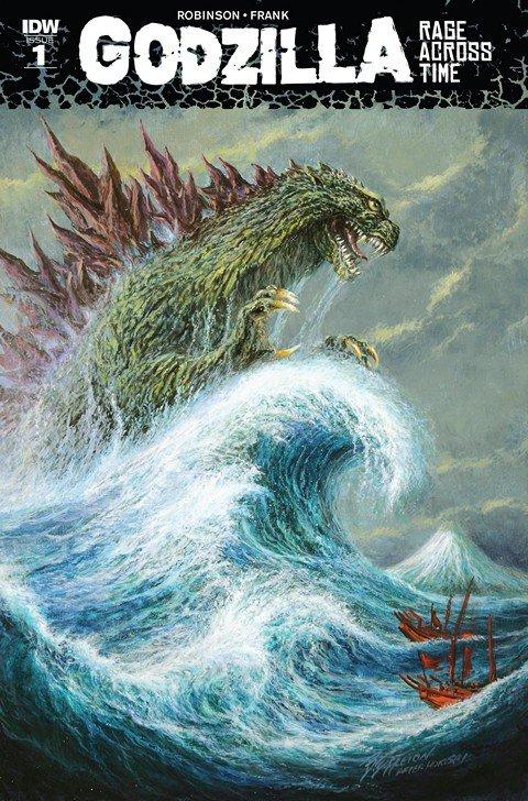 Godzilla – Rage Across Time #1 (2016)