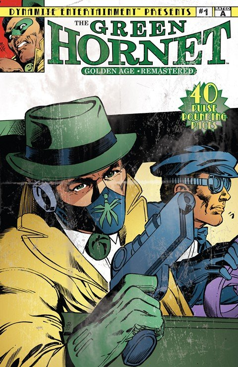 Green Hornet – Golden Age Re-Mastered #1 – 8