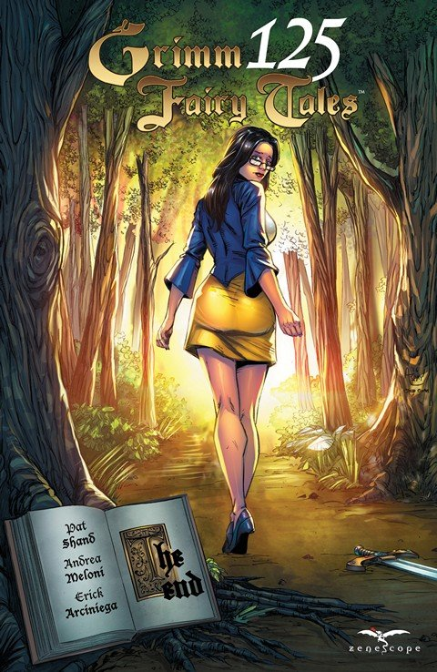 Grimm Fairy Tales #125 (2016)