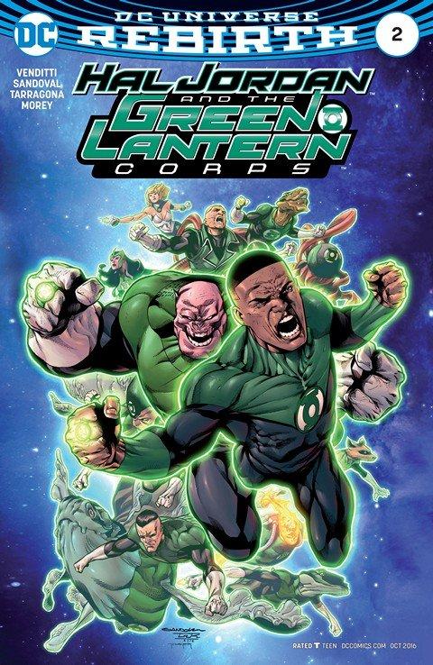 Hal Jordan and the Green Lantern Corps #2