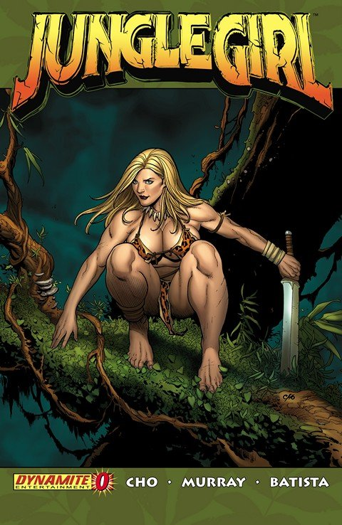 Jungle Girl #0 – 5 (2007-2008)