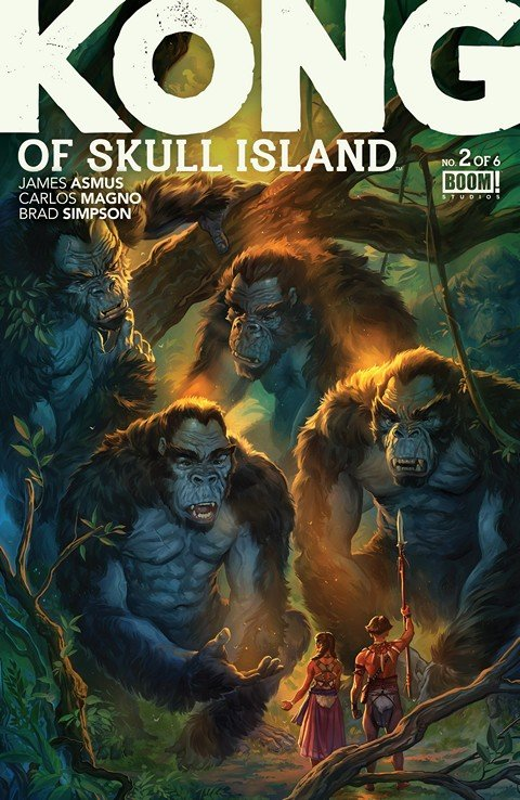 Kong Of Skull Island #2 (2016)
