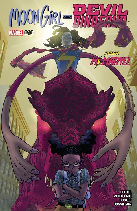Moon Girl and Devil Dinosaur #10 (2016)
