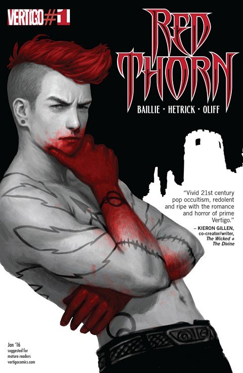 Red Thorn #1 – 13 + TPBs (2016-2017)