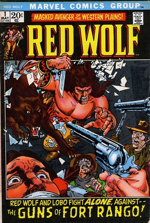 Red Wolf #1 – 9 (1972-1973)