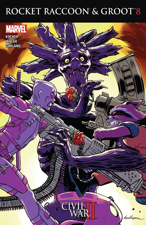 Rocket Raccoon and Groot #8 (2016)