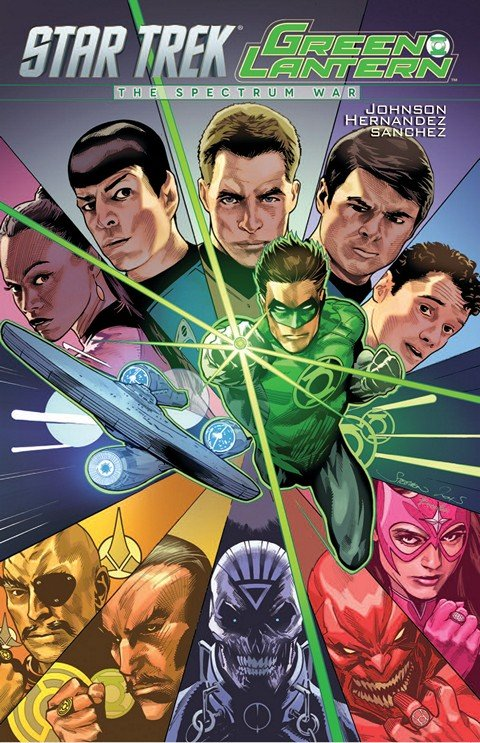 Star Trek-Green Lantern – The Spectrum War