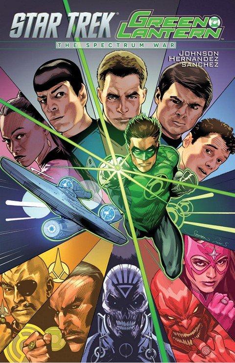 Star Trek-Green Lantern – The Spectrum War