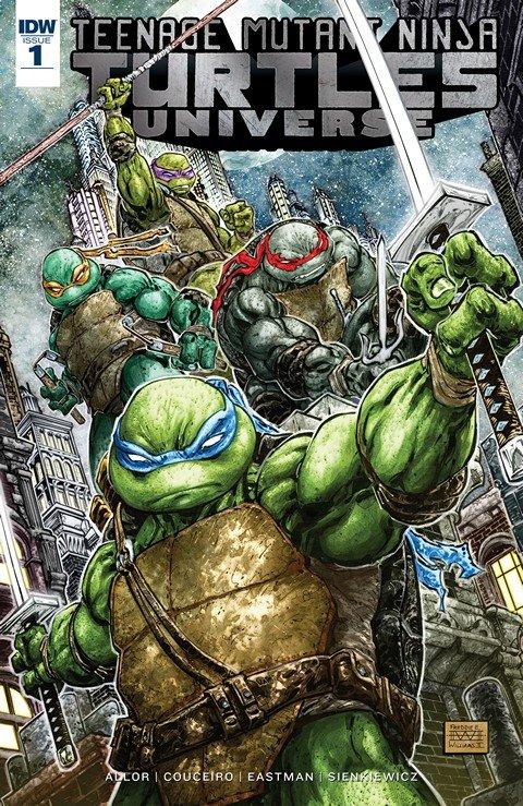 Teenage Mutant Ninja Turtles Universe #1 (2016)