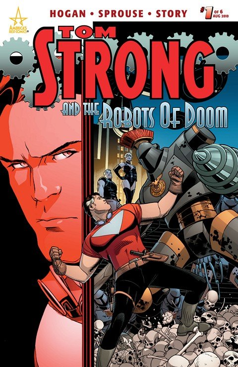 Tom Strong and the Robots of Doom #1 – 6 (2010)