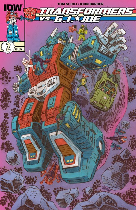 Transformers vs. G.I. Joe Vol. 2 (TPB) (2015)