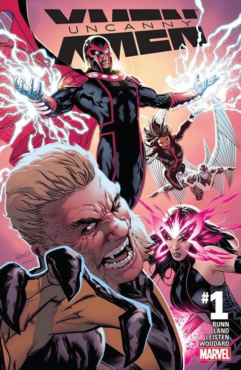 Uncanny X-Men Vol. 4 #1 – 19 + TPB Vol. 1 – 4 (2016-2017)