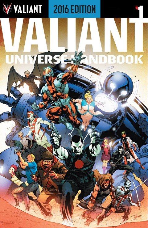 Valiant Universe Handbook 2016 Edition #1