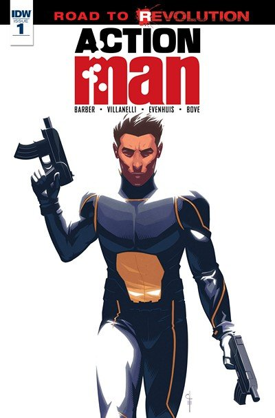 Action Man #1 – 3 + Prologue (2016)