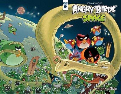 Angry Birds Comics #9 (2016)