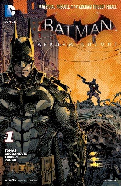 Batman – Arkham Knight #0 – 39 + Print Version #1 – 12 + TPBs (2015-2016)