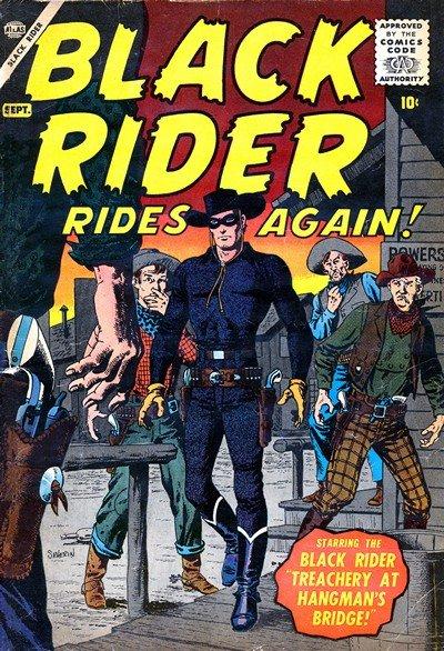 Black Rider Rides Again Vol. 1 #1 (1957)