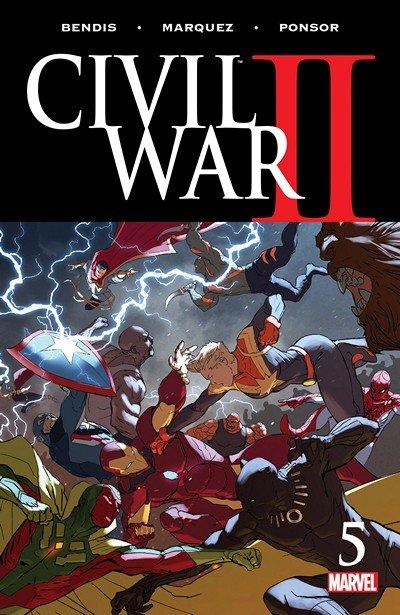 Civil War II #5 (2016)