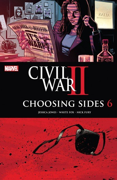 Civil War II – Choosing Sides #6 (2016)