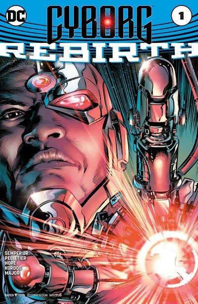 Cyborg – Rebirth #1 (2016)