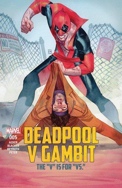 Deadpool v Gambit #5 (2016)